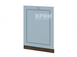 Врата за вградена съдомиялна Сити ВФ-Деним мат-06-39 с широчина 60 см.
