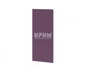 Горен модул- краен панел за кухня Сити Ф-Лилаво мат-05-19