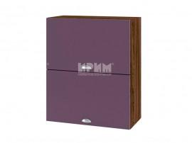 Горен шкаф за кухня Сити ВФ-Лилаво мат-05-11 МДФ - 60 см.