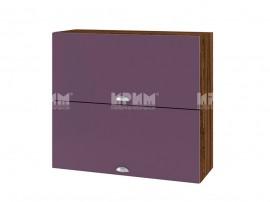 Горен шкаф за кухня Сити ВФ-Лилаво мат-05-12 МДФ - 80 см.
