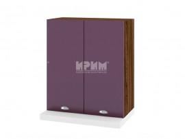 Горен кухненски шкаф за аспиратор Сити ВФ-Лилаво мат-05-13 МДФ - 60 см.