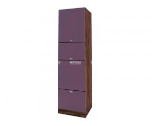 Колонен кухненски шкаф Сити ВФ-Лилаво мат-05-48 с широчина 60 см.