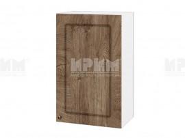Горен шкаф за кухня Сити БФ-Дъб натурал-06-6 МДФ - 45 см.