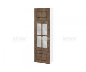 Горен кухненски шкаф Сити БФ-Дъб натурал-06-101 МДФ - 40 см.