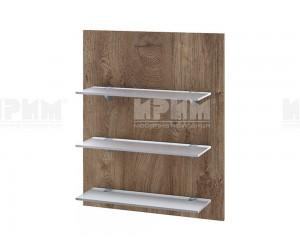 Кухненска етажерка за стена Сити Ф-Дъб натурал-06-106 МДФ - 60 см.