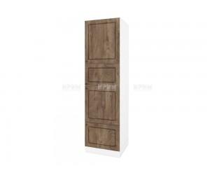Колонен кухненски шкаф Сити БФ-Дъб натурал-06-48 МДФ - 60 см.