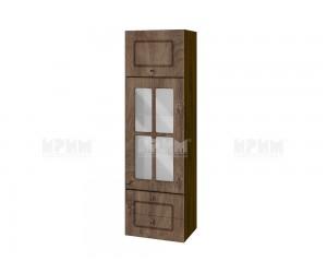 Горен кухненски шкаф Сити ВФ-Дъб натурал-06-101 МДФ - 40 см.