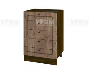 Долен шкаф за кухня Сити ВФ-Дъб натурал-06-29 МДФ - 60 см.