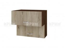Горен кухненски шкаф Сити ВДА-107 с хоризонтални врати - 80 см.