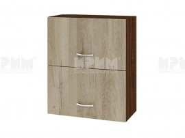 Горен кухненски шкаф Сити ВДА-11 с хоризонтални врати - 60 см.