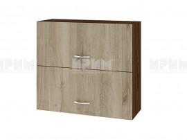 Горен кухненски шкаф Сити ВДА-12 с хоризонтални врати - 80 см.
