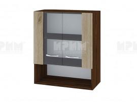 Горен кухненски шкаф с витрини Сити ВДА-9 - 60 см.
