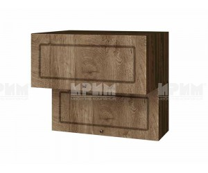 Горен шкаф за кухня Сити ВФ-Дъб натурал-06-107 МДФ - 80 см.