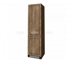 Колонен кухненски шкаф Сити ВФ-Дъб натурал-06-50 МДФ за хладилник - 60 см.