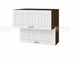 Горен шкаф за кухня Сити ВФ-Бяло фладер-04-107 МДФ - 80 см.