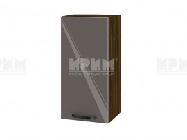 Горен шкаф за кухня Сити ВФ-Антрацит гланц-05-16 МДФ - 35 см.