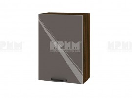 Горен шкаф за кухня Сити ВФ-Антрацит гланц-05-18 МДФ - 50 см.