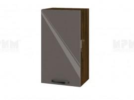 Горен шкаф за кухня Сити ВФ-Антрацит гланц-05-2 МДФ - 40 см.