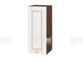 Горен шкаф за кухня Сити ВФ-Бяло мат-09-1 МДФ - 30 см.
