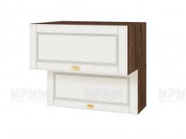 Горен шкаф за кухня Сити ВФ-Бяло мат-09-107 МДФ - 80 см.