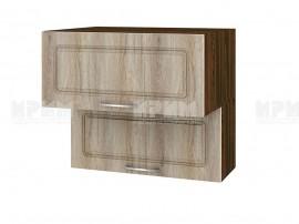 Горен шкаф за кухня Сити ВФ-Сонома-02-107 МДФ - 80 см.