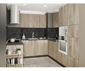 Кухненски комплект Сити 978 - Сонома арвен - с цели термоплотове
