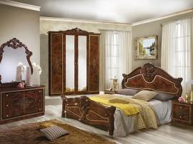 Луксозен спален комплект Amalfi Marrone 160/200