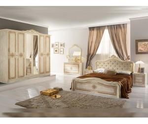 Луксозен спален комплект Luisa Beige