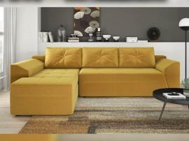 Разтегателен ъглов диван Соренто с две ракли