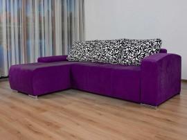 Разтегателен ъглов диван Виктор Мини с Бонел пружина и две ракли