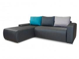 Разтегателен ъглов диван Виктор с Бонел пружина и две ракли