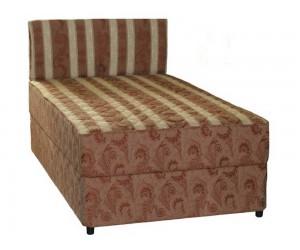 Тапицирано легло Лион 1 - Пух с включен матрак 120/200 см.