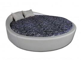 Кръгло легло Венеция с включена подматрачна рамка Ф220 см.