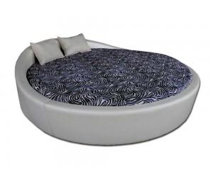 Кръгло легло Венеция с включена подматрачна рамка Ф250 см.