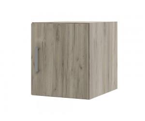 Надстройка за еднокрилен гардероб Топ 1 - 40 см. дъб крафт сиво
