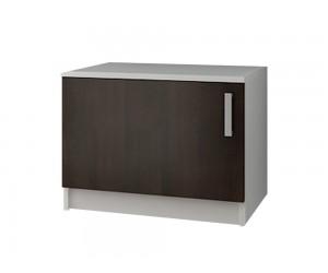 Кухненски долен шкаф Кети М10 за печка Раховец Венге/Бяло 60 см.