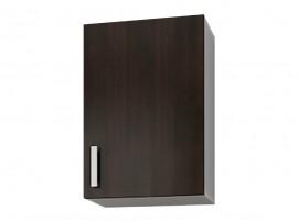 Кухненски горен шкаф с една врата Кети М3 Венге/Бяло 40 см.