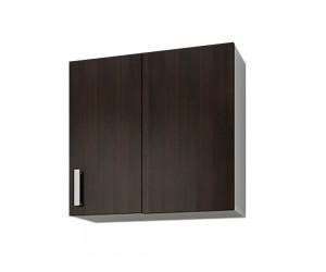 Кухненски горен шкаф за ъгъл Кети М19 Венге/Бяло 60 см.