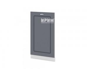 Врата за съдомиялна Сити БФ-Цимент мат-06-38 МДФ - 45 см.