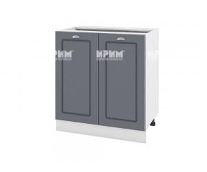 Долен шкаф за кухня Сити БФ-Цимент мат-06-23 МДФ - 80 см.