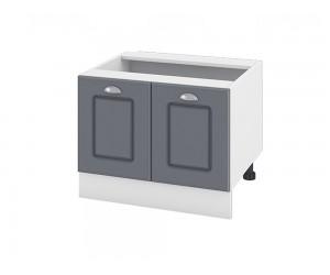 Кухненски долен шкаф за печка тип Раховец Сити БФ-Цимент мат-06-32 МДФ - 60 см.