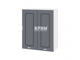 Горен шкаф за кухня Сити БФ-Цимент мат-06-3 МДФ - 60 см.
