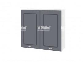 Горен шкаф за кухня Сити БФ-Цимент мат-06-4 МДФ - 80 см.