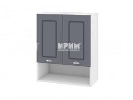 Горен шкаф за кухня Сити БФ-Цимент мат-06-7 МДФ - 60 см.