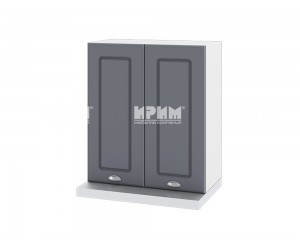 Кухненски горен шкаф за аспиратор Сити БФ-Цимент мат-06-13 МДФ - 60 см.