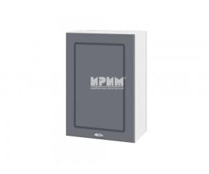 Горен шкаф за кухня Сити БФ-Цимент мат-06-18 МДФ - 50 см.