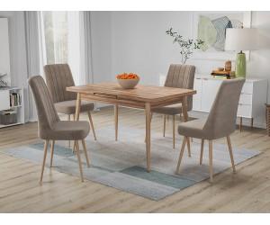 Кухненски комплект Бохеми маса с четири стола