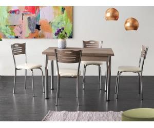 Кухненски комплект Кармен маса с четири стола