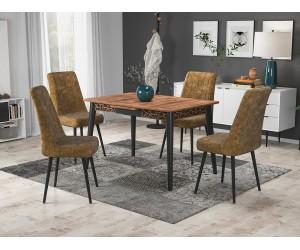 Кухненски комплект Милано маса с четири стола