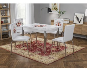 Кухненски комплект Ориент маса с четири стола